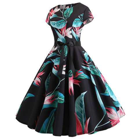 Image of 1950s Retro Rockabilly Prom Dresses - Itopfox