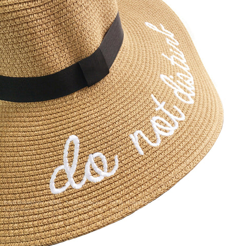 """Do Not Disturb"" Floppy Sunhat - Itopfox"