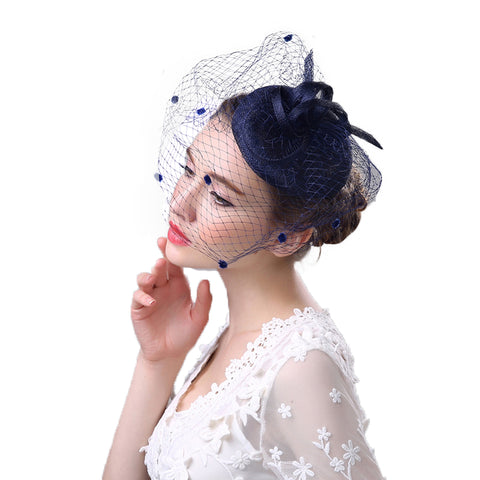 Fascinator Tea Party Cocktail Hat - Itopfox
