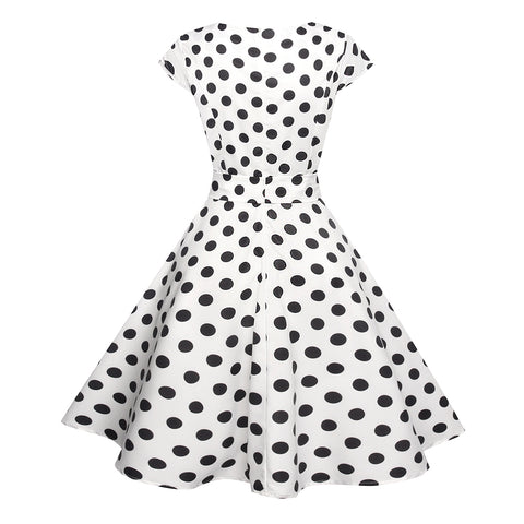 1950's Hepburn Cocktail Party Dress - Itopfox