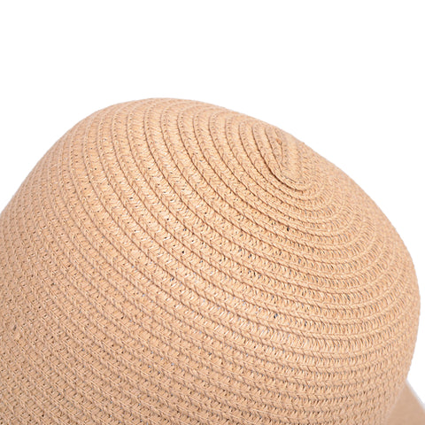 Image of Foldable Big Brim Straw Sunhat - Itopfox