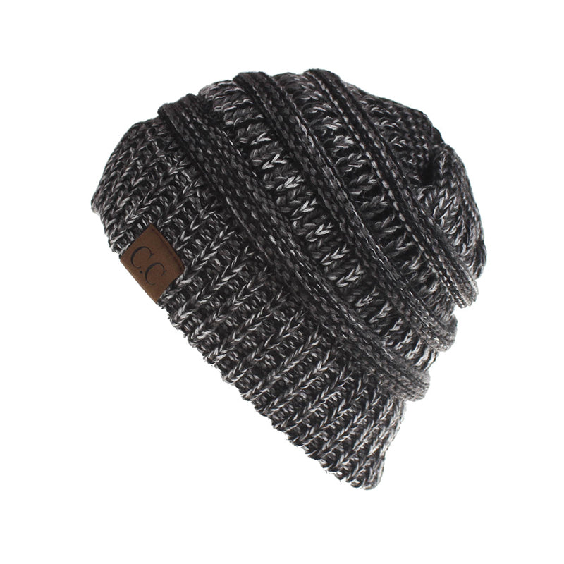 52ca35df4f6 Cable Knit Confetti Chunky Beanie Hat (With CC Label)