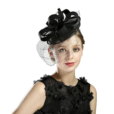 Veil Tea Party Cocktail Fascinators - Itopfox