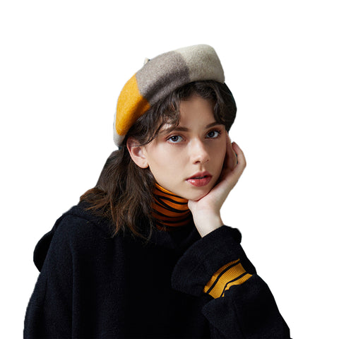 Beret Cap With French Style - Itopfox