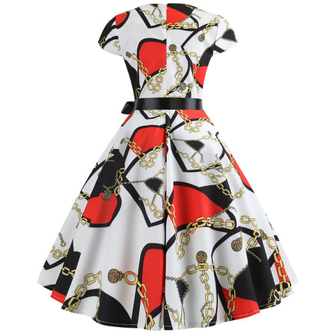 Image of 1950's Vintage Retro Dress - Itopfox
