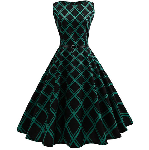 1950's Classic Hepburn Party Dress - Itopfox