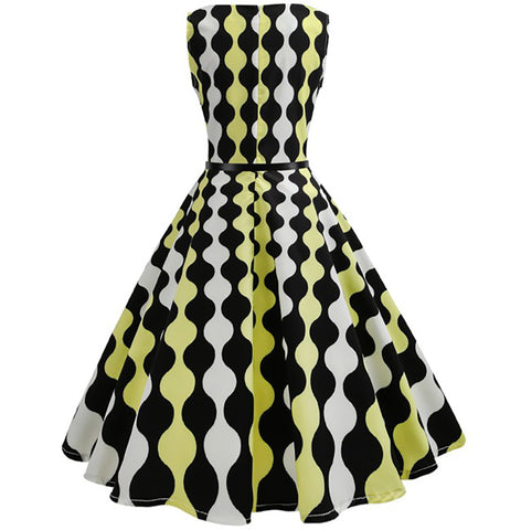1950's Vintage Cocktail Party Dress - Itopfox