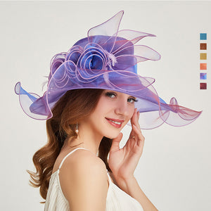 Tea Party Kentucky Derby Hat - Itopfox