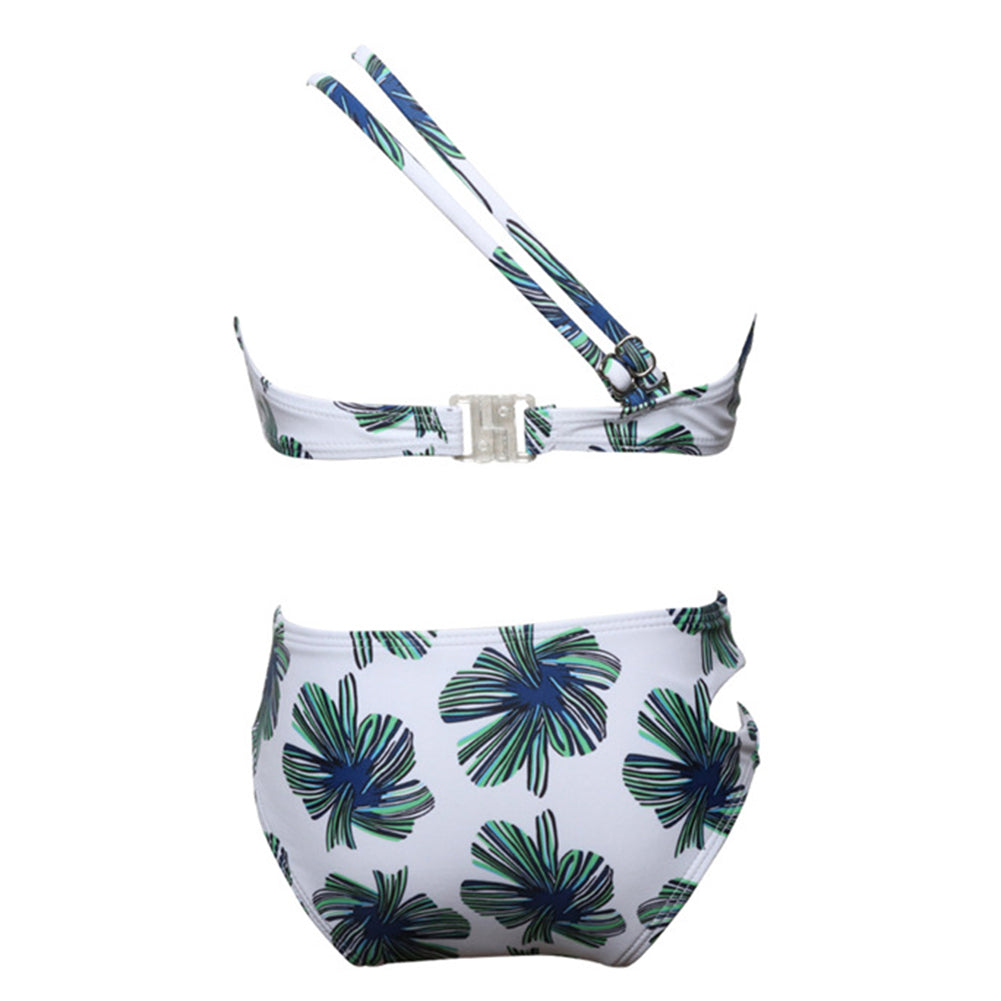Halter Two Pieces Bikini Set - Itopfox