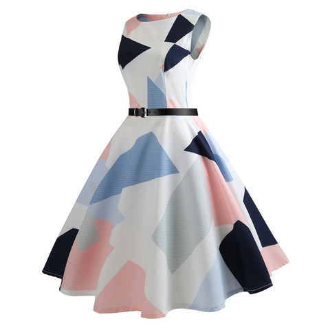 Image of Hepburn Vintage Tea Party Dress - Itopfox