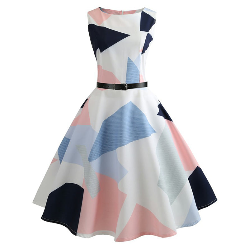 Hepburn Vintage Tea Party Dress - Itopfox
