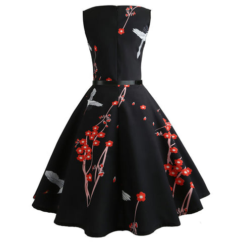 1950s Classic Tea Party Dress - Itopfox
