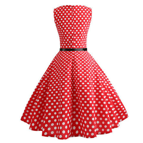 Image of Tea Party Cocktail Retro Dress - Itopfox