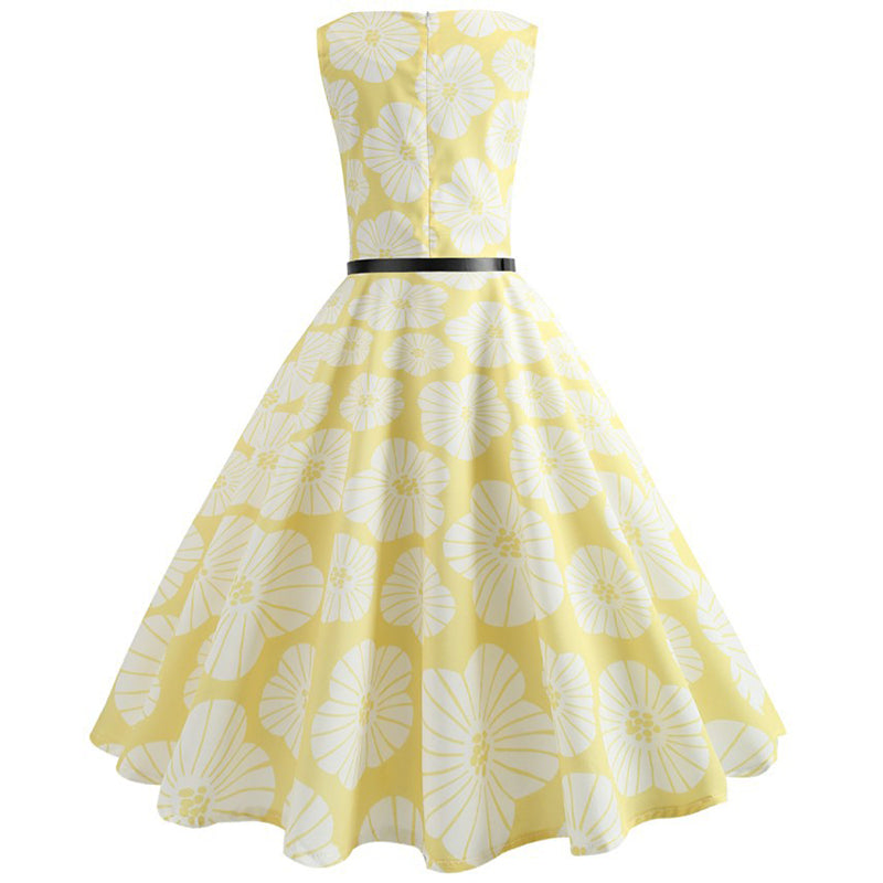 Hepburn Style Tea Party Dress - Itopfox
