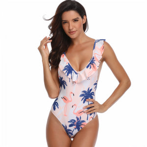 Falbala One Piece Swimsuit - Itopfox