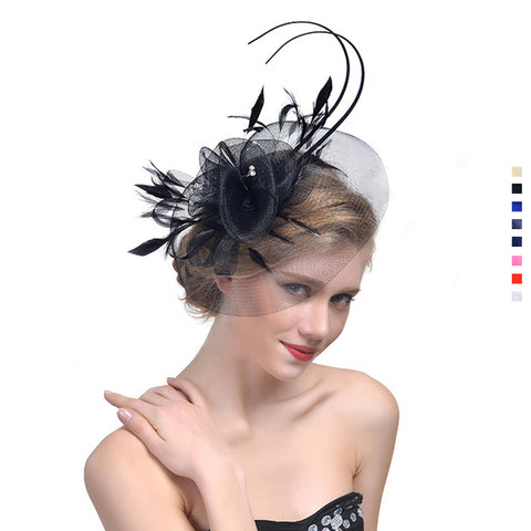 Cocktail Royal Banquet Fascinator - Itopfox