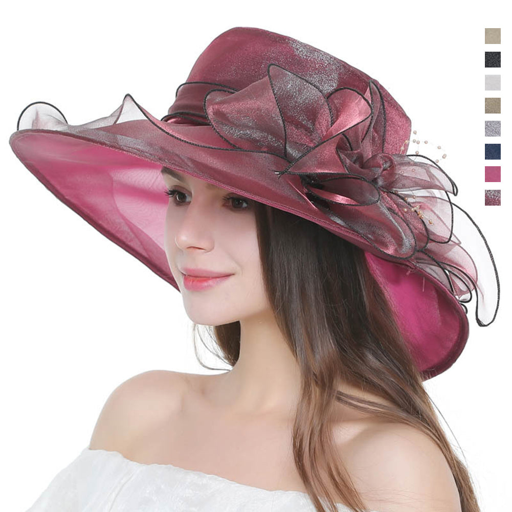 Kentucky Derby Floppy Top Hat - Itopfox