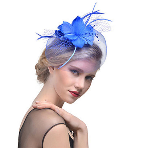 Flower Fascinators Hat - Itopfox