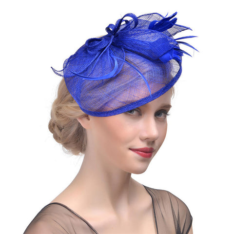 Pill Hat Bridal Cocktail Fascinators - Itopfox