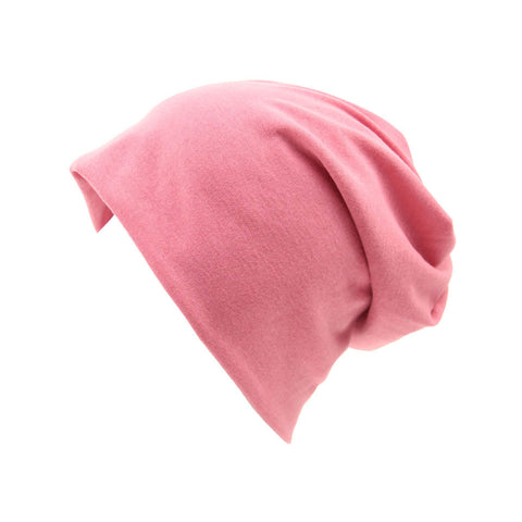 Casual Cotton Knit Skully Beanie Hat - Itopfox