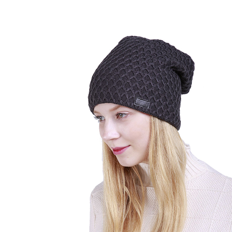 Knit Skully Beanie Hat - Itopfox