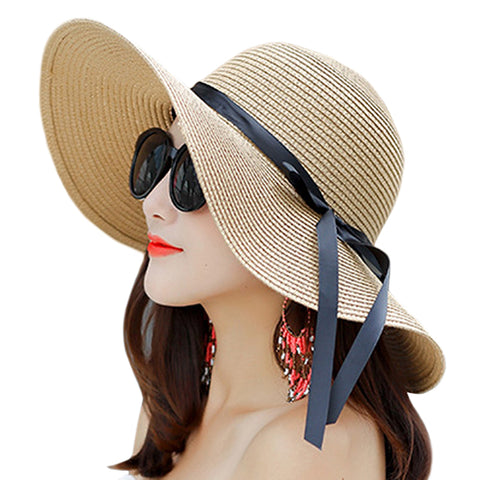 Big Brim Floppy Beach Sun Hat - Itopfox