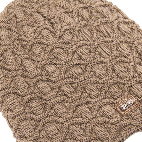 Cable Knit Skullies Cap Beanie - Itopfox