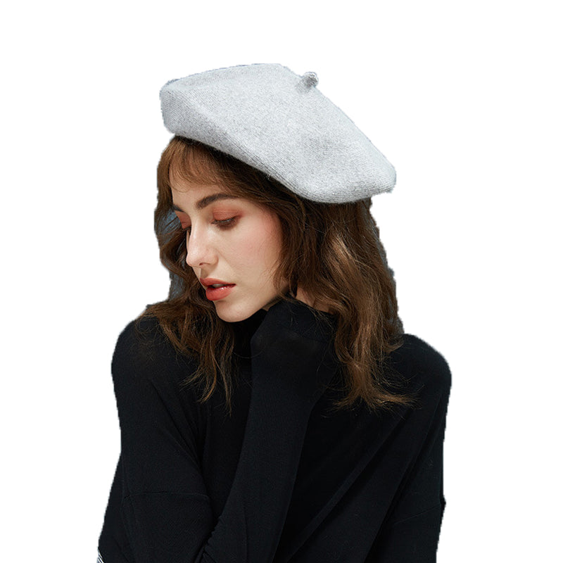 Beret Hat With Starry Pearl - Itopfox