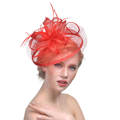 Cocktail Banquet Fascinators Hat - Itopfox