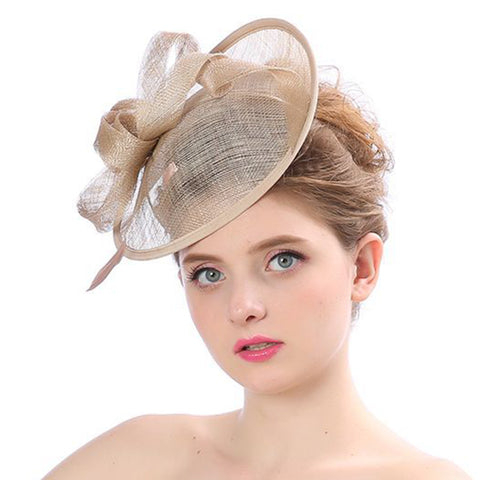 Pill Hat Fascinator Wedding Headwear - Itopfox
