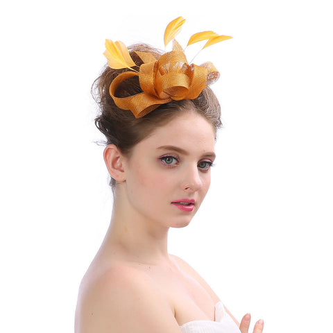 Image of Bowknot Wedding Fascinators Banquet - Itopfox