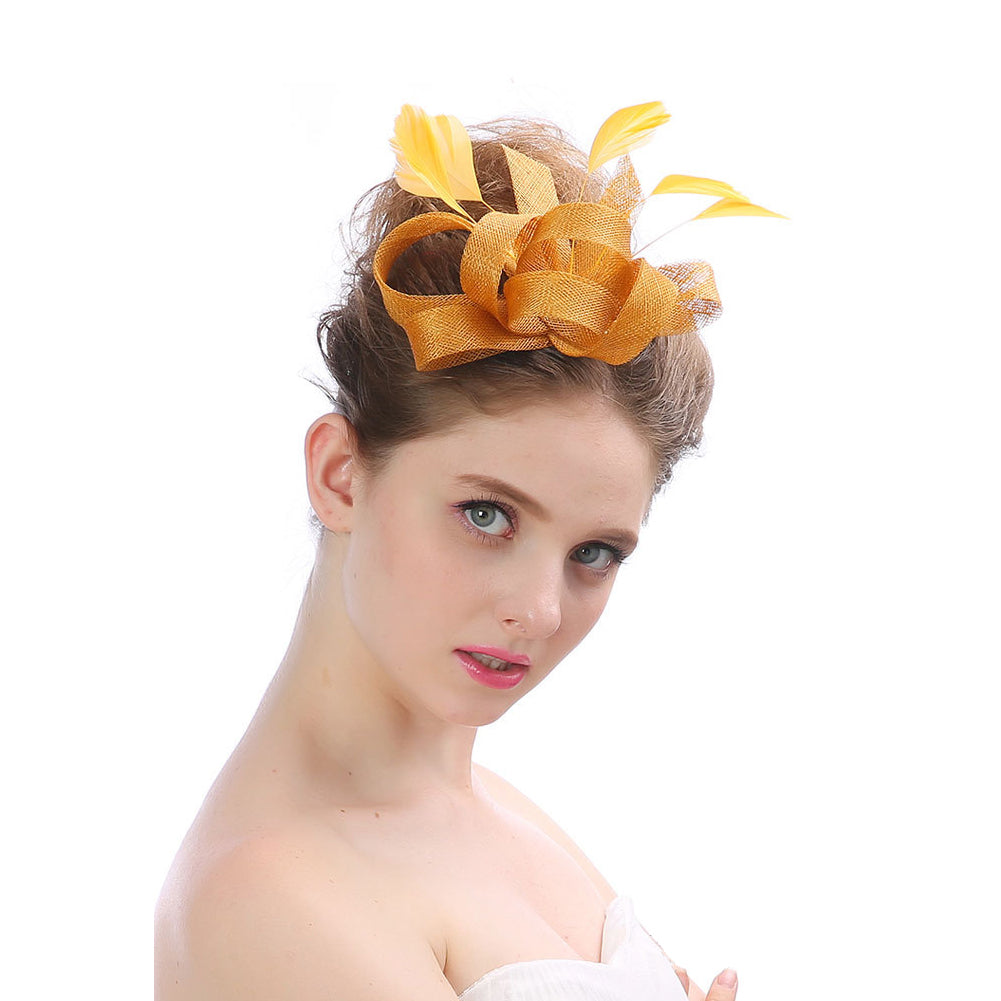 Bowknot Wedding Fascinators Banquet - Itopfox