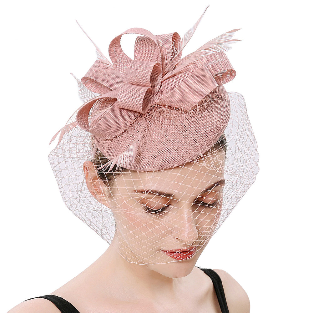 Royal Banquet Fascinators Derby Hat - Itopfox