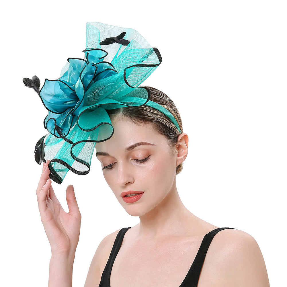 Bridal  Cocktail Fascinators Derby Hat - Itopfox