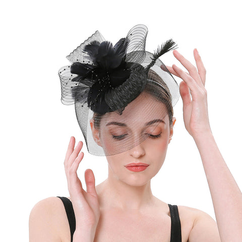 Image of Fascinators Wedding Party Hat - Itopfox