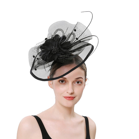 Image of Cocktail Fascinators Hair Clip - Itopfox