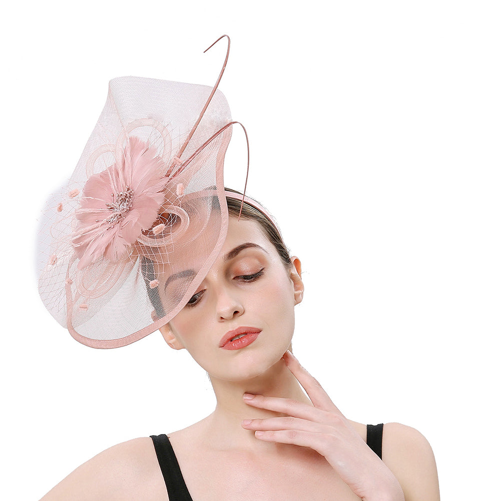 Cocktail Fascinators Hair Clip - Itopfox