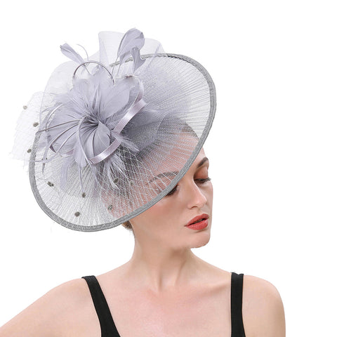 Veil Mesh  Fascinator Hat - Itopfox