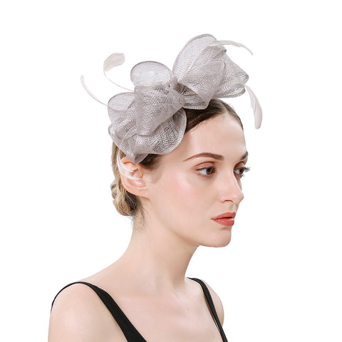 Image of Tea Party Derby Fascinators Hat - Itopfox