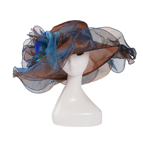Organza Church Kentucky Derby Hat - Itopfox