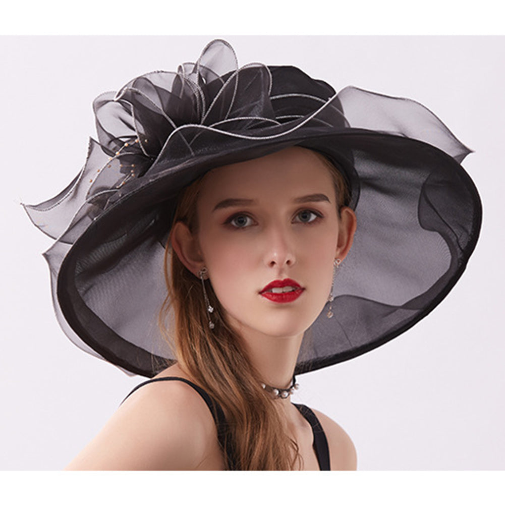 Wide Brim Tea Party Kentucky Derby Hats