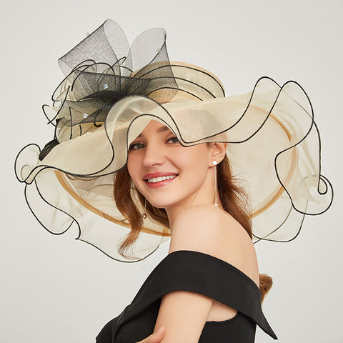 Organza Kentucky Derby Top Hat - Itopfox