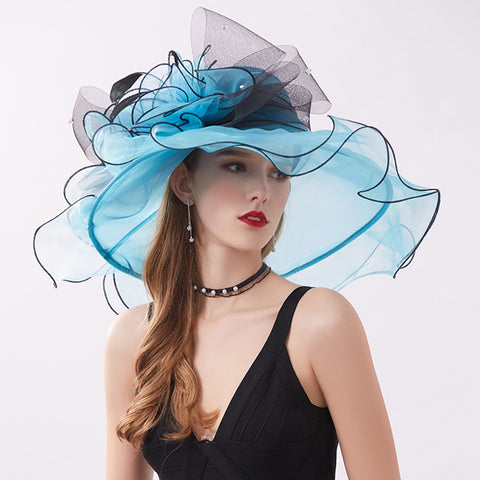 Image of Organza Kentucky Derby Top Hat