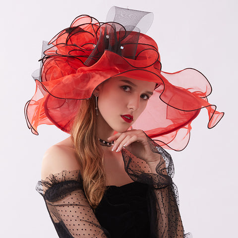 Organza Kentucky Derby Top Hat