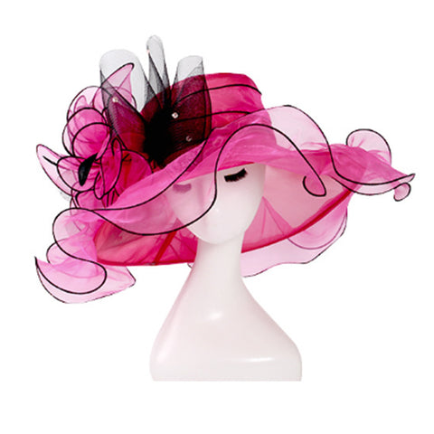 Image of Organza Kentucky Derby Top Hat - Itopfox
