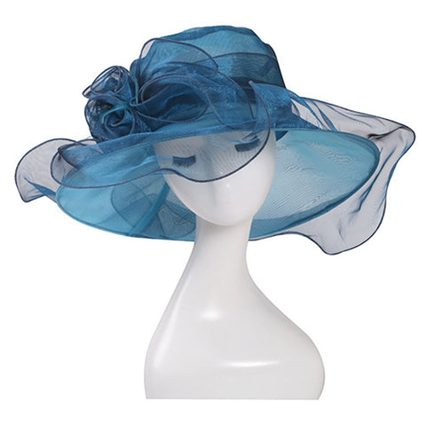 Image of Organza Kentucky Derby Hat Fascinator - Itopfox