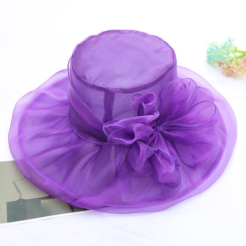Image of Bridal Tea Party Kentucky Derby Hat - Itopfox