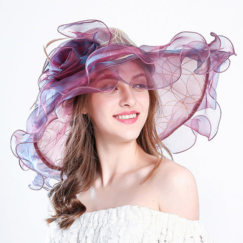Image of Floppy Church Kentucky Derby Hat - Itopfox