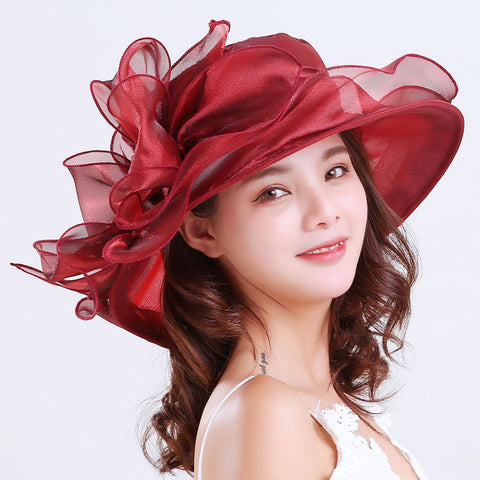Image of Tea Party Wedding Kentucky Derby Hats - Itopfox