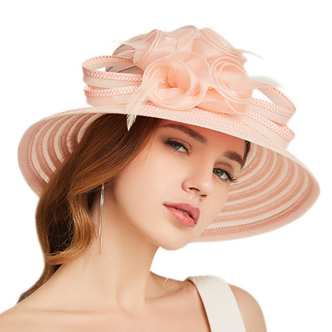 Summer Beach Cloche Sun Hat - Itopfox
